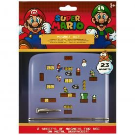 Set de 23 Magnets NINTENDO - Super Mario