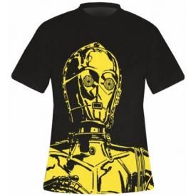 T-Shirt Mec STAR WARS - C-3PO Big