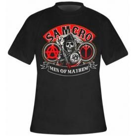 T-Shirt Mec SONS OF ANARCHY - Samcro Reaper