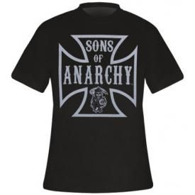 T-Shirt Mec SONS OF ANARCHY - Iron Cross