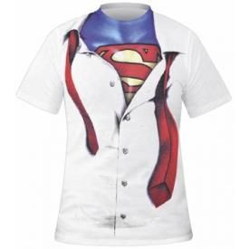 T-Shirt Mec SUPERMAN - Clark Kent Costume