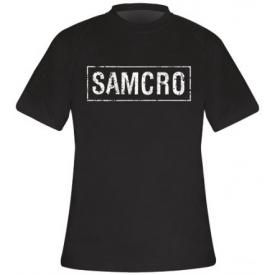 T-Shirt Mec SONS OF ANARCHY - Samcro Vintage