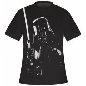 T-Shirt Mec STAR WARS - Big Metallic Vador