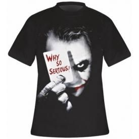 T-Shirt Mec BATMAN - Why So Serious ?