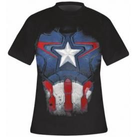 T-Shirt Mec CAPTAIN AMERICA - Suit