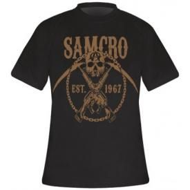 T-Shirt Mec SONS OF ANARCHY - Samcro Chained