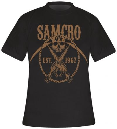 Image de T-Shirt Mec SONS OF ANARCHY - Samcro Chained