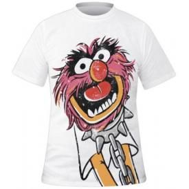 T-Shirt Mec THE MUPPET SHOW - Metal Animal