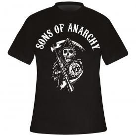 T-Shirt Mec SONS OF ANARCHY - Classic Reaper Logo