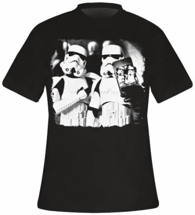t shirt mec star wars stormtrooper selfie t shirts. Black Bedroom Furniture Sets. Home Design Ideas