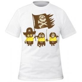 T-Shirt Mec MINIONS - Pirates