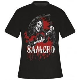 T-Shirt Mec SONS OF ANARCHY - Bloody Skythe
