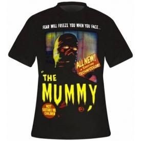 T-Shirt Mec THE MUMMY - Movie Cover