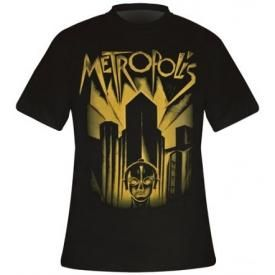 T-Shirt Mec METROPOLIS - Movie Cover