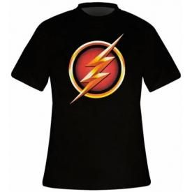 T-Shirt Mec FLASH - TV Show Logo