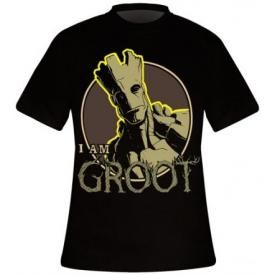 T-Shirt Mec THE GUARDIANS OF THE GALAXY - Groot