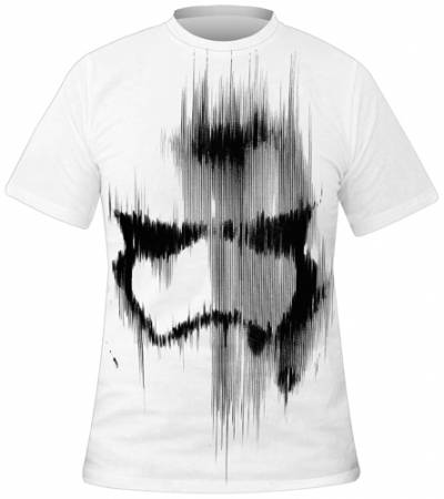 t shirt mec star wars faded stormtrooper rock a gogo. Black Bedroom Furniture Sets. Home Design Ideas