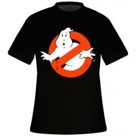 T-Shirt Mec GHOSTBUSTERS - Distressed Logo