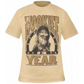 T-Shirt Mec STAR WARS - Chewbacca Wookie Of The Year