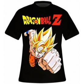 T-Shirt Mec DRAGON BALL Z - Sangoku Saiyan