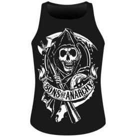 Débardeur Mec SONS OF ANARCHY - Scroll Reaper