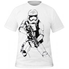 T-Shirt Mec STAR WARS - Stormtrooper Sketch