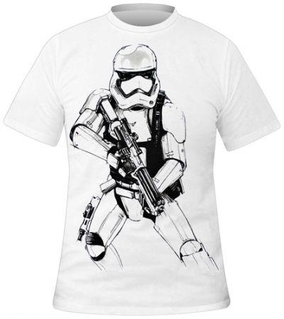 Image de T-Shirt Mec STAR WARS - Stormtrooper Sketch