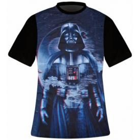 T-Shirt Mec FREEGUN - Star Wars 3D Big Vader