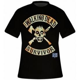 T-Shirt Mec THE WALKING DEAD - Survivor