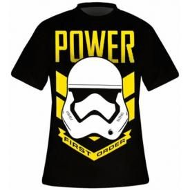 T-Shirt Mec STAR WARS - First Order Power