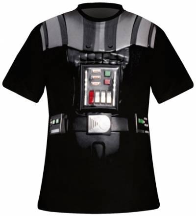 t shirt homme star wars dark vador costume rock a gogo. Black Bedroom Furniture Sets. Home Design Ideas