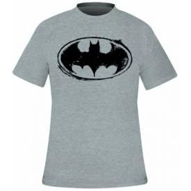 T-Shirt Mec BATMAN - Sketch Logo