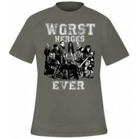 T-Shirt Mec SUICIDE SQUAD - Worst Heroes Ever