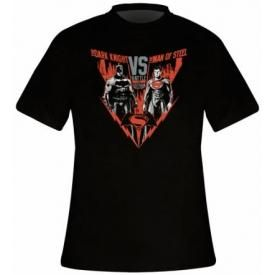 T-Shirt Mec BATMAN V SUPERMAN - Battle For Gotham
