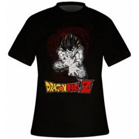 T-Shirt Mec DRAGON BALL Z - Goku Kameha Dragon