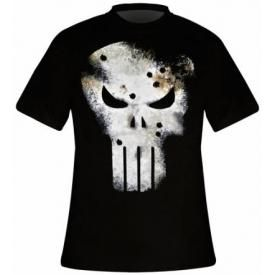 T-Shirt Mec THE PUNISHER - Gunshots