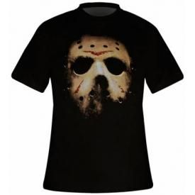 T-Shirt Mec FRIDAY THE 13TH - Jason's Mask
