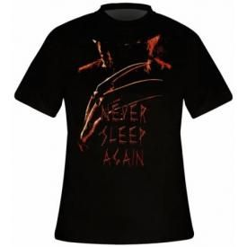 T-Shirt Mec LES GRIFFES DE LA NUIT - Never Sleep Again