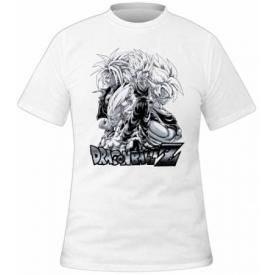 T-Shirt Mec DRAGON BALL Z - White