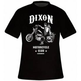 T-Shirt Mec THE WALKING DEAD - Daryl Dixon Chopper