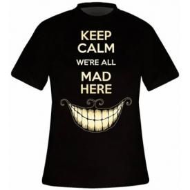 T-Shirt Mec ALICE IN WONDERLAND - Keep Calm