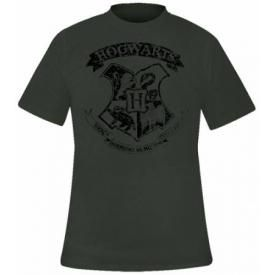 T-Shirt Mec HARRY POTTER - Distressed Hogwarts