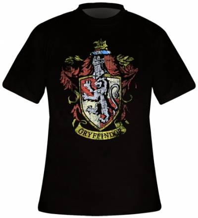T Shirt Rock Harry A Homme Potter Gryffindor Gogo Crest FJ3lK1uTc