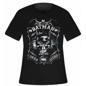 T-Shirt Mec BATMAN - Skullbat