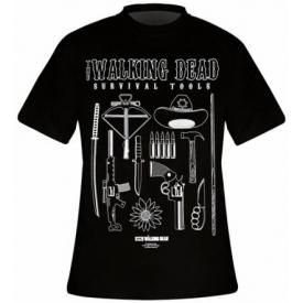 T-Shirt Mec THE WALKING DEAD - Survival Tools