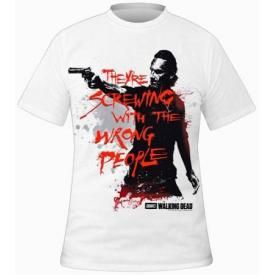 T-Shirt Mec THE WALKING DEAD - Wrong People