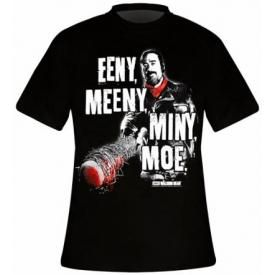T-Shirt Mec THE WALKING DEAD - Negan Eeny Meeny Miny Moe