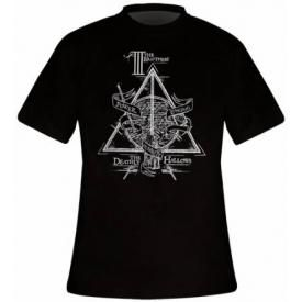 T-Shirt Mec HARRY POTTER - Deathly Hallows