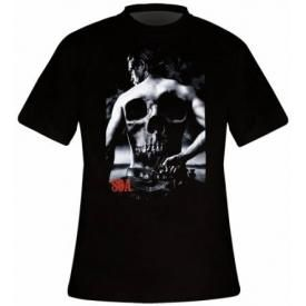 T-Shirt Mec SONS OF ANARCHY - Back Head Skull