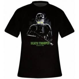 T-Shirt Mec STAR WARS - Rogue One Death Trooper